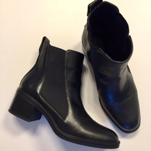 Elasticated High Heel Ankle Boots